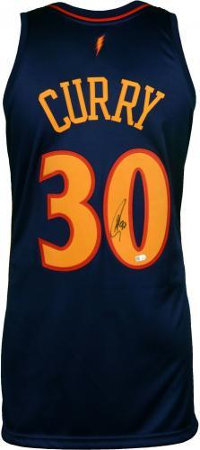 new style 3d2c0 5323c Stephen Curry Golden State Warriors Autographed Mitchell & Ness Authentic  2009-2010 Throwback Jersey