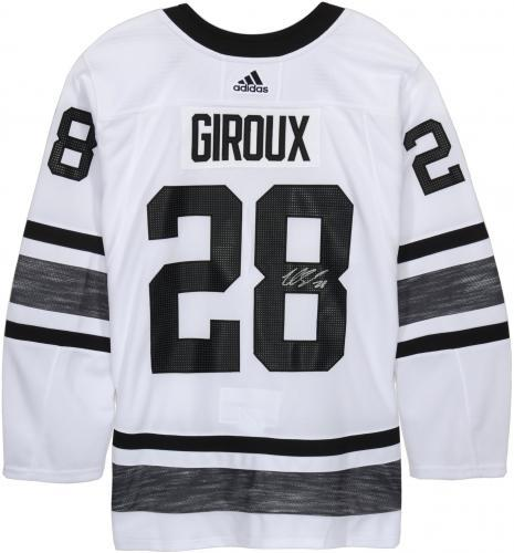 690bed629d Claude Giroux Philadelphia Flyers Autographed 2019 NHL All-Star Game White  Parley Adidas Authentic Jersey