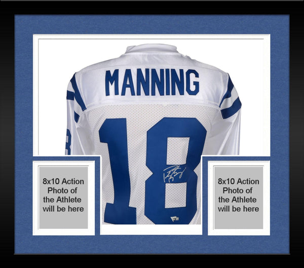 aeebc1eb5 Framed Peyton Manning Indianapolis Colts Autographed Mitchell & Ness 2 –  Steiner Sports
