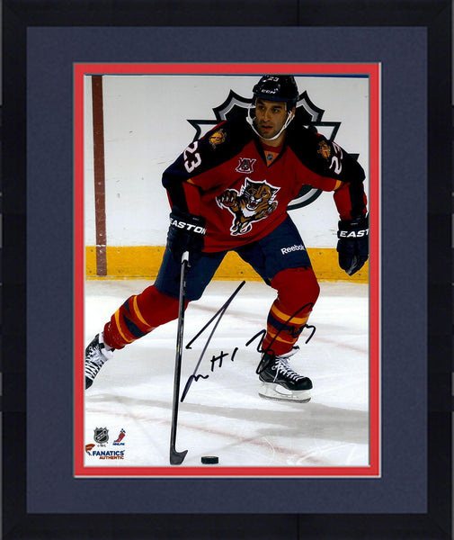 the latest d82f3 7c3f3 Framed Scott Gomez Florida Panthers Autographed 8