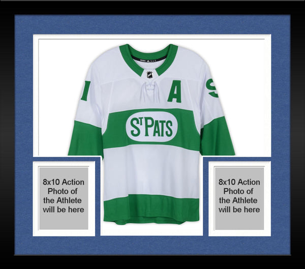 finest selection c9bc9 2e9c7 Framed John Tavares Toronto Maple Leafs Autographed Toronto St. Pats Adidas  Authentic Jersey
