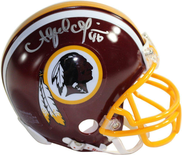 8fd247eb Alfred Morris Signed Washington Redskins Mini Helmet (JSA)