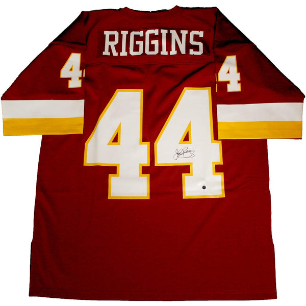 buy popular cf289 c868d John Riggins Signed Washington Redskins Replica Mitchell & Ness Jersey