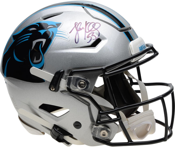 official photos 825db f8be8 Luke Kuechly Carolina Panthers Autographed Riddell Speed Flex Authentic  Helmet