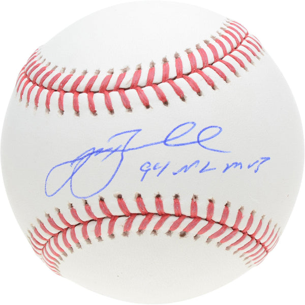 Jeff Bagwell Houston Astros Autographed Baseball with