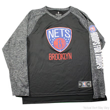 a9b116c6fbde Jarret Allen Brooklyn Nets Game Used  31 Black Grey Long Sleeve Hoops For  Troops Shirt (2XLT)
