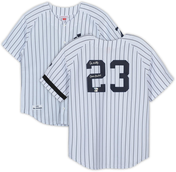 on sale 2ff6c 8755c Don Mattingly New York Yankees Autographed White Jersey with