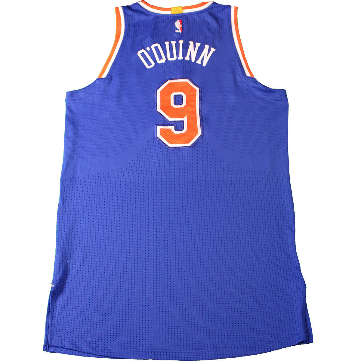f3eda3d08b46b5 Kyle O Quinn New York Knicks 2015-16 Game Used  9 Blue Jersey (4 12 2016 at  Indiana Pacers) (3XL) (NKN03964) ...