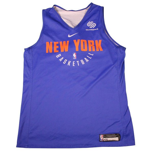 Michael Beasley New York Knicks Game Used  8 Reversible Practice Jerse – Steiner  Sports 4fe0978ab