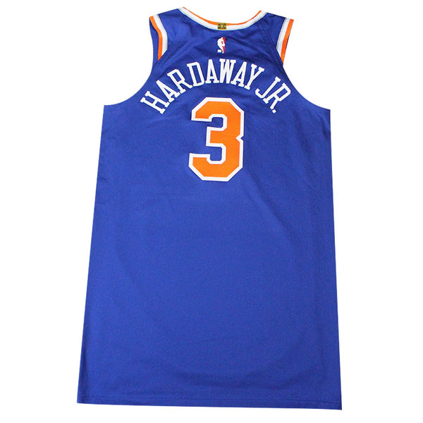 03fb46d56f8 Tim Hardaway Jr. New York Knicks 2018-19 Game Used #3 Blue Jersey ( 1/ –  Steiner Sports