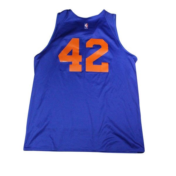 reputable site 8b24a ce0f3 Lance Thomas New York Knicks Game Used #42 Reversible Practice Jersey (XLT)
