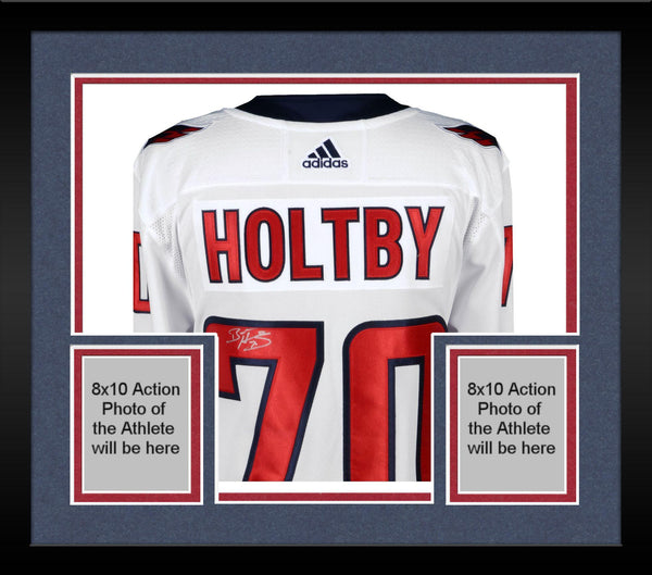 lowest price 6e011 2086d Framed Braden Holtby Washington Capitals 2018 Stanley Cup Champions  Autographed White Adidas Authentic Jersey with 2018 Stanley Cup Final Patch