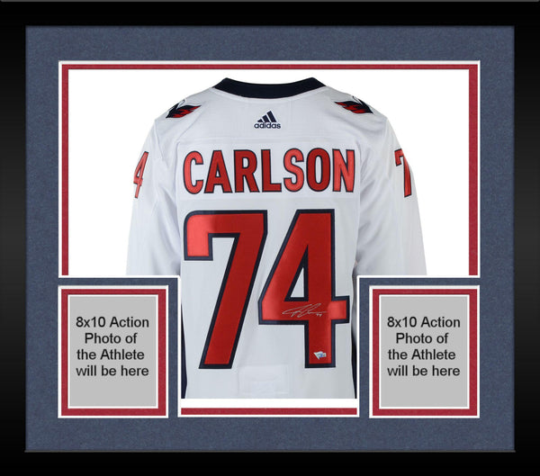 f7328a3ee Framed John Carlson Washington Capitals 2018 Stanley Cup Champions Aut – Steiner  Sports