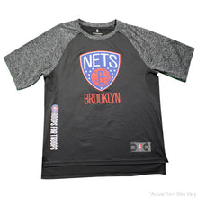 81495374f975 Trevor Booker Brooklyn Nets Game Used  35 Black Grey Short Sleeve Hoops For  Troops Shirt (XLT)