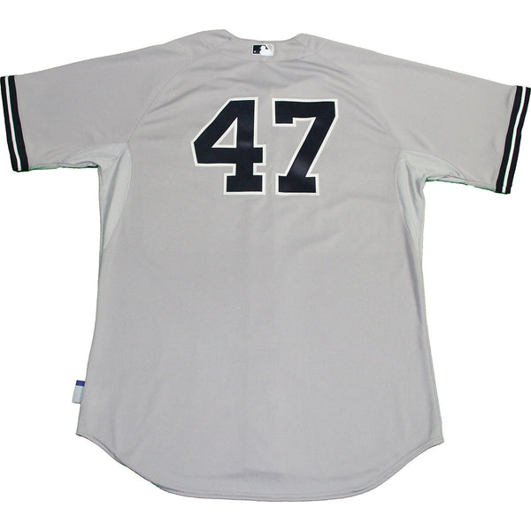 4ce4bb35a35 Ivan Nova Jersey - NY Yankees 2015 Game Used  47 Grey Cool Base Jersey – Steiner  Sports
