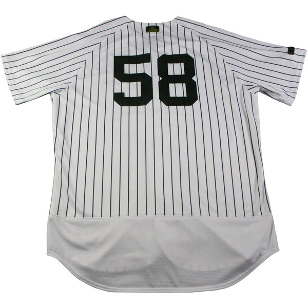 b74b5320f Larry Rothschild New York Yankees Game Used  58 Memorial Day Weekend  Pinstripe Jersey (5 28 2017)(JC357041)