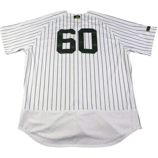14c77911c Mike Harkey New York Yankees Game Issued  60 Memorial Day Weekend Pinstripe  Jersey (5 27 2017)(JB834797)