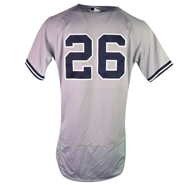 Andrew McCutchen New York Yankees 2018 Road Game Used  26 Jersey (9 30 –  Steiner Sports 7e6df8baa2f