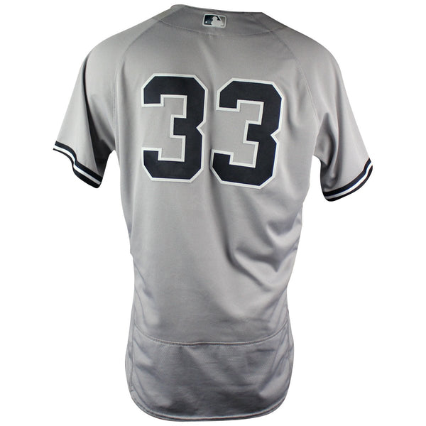 Greg Bird New York Yankees 2018 Road Game Used  33 Jersey (6 10 2018) –  Steiner Sports 8e3e067f49a