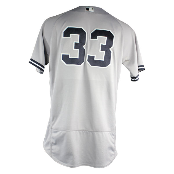 Greg Bird New York Yankees 2018 Road Game Used  33 Jersey (6 27 2023) –  Steiner Sports 03134c055a5