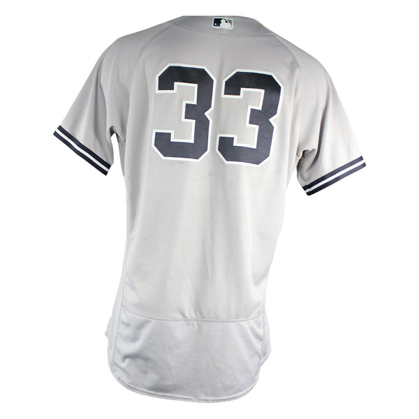 Greg Bird New York Yankees 2018 Road Game Used  33 Jersey (7 15 2018) –  Steiner Sports 85faed7a973