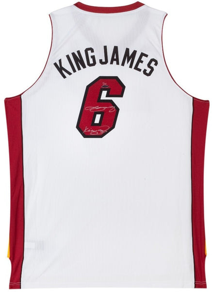 check out 06c5e bbf1e Lebron James Autographed and Inscribed King James