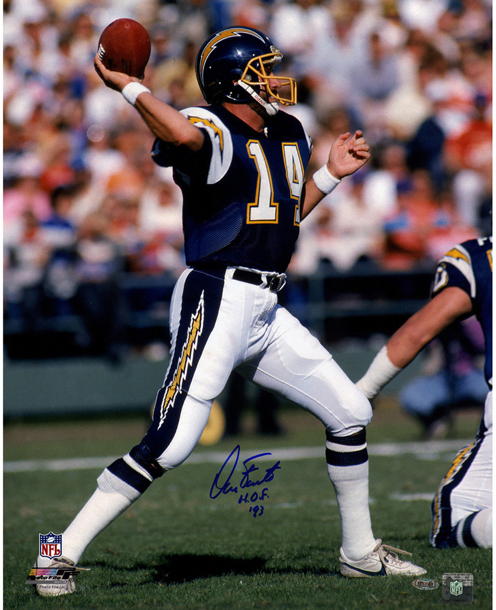 Los Angeles Chargers Dan Fouts Photo Dan Fouts Chargers Photo