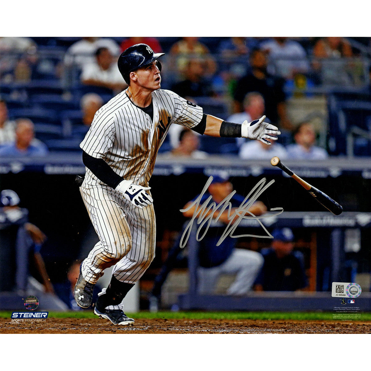 Tyler Austin Walk-Off 8x10 Signed Photo
