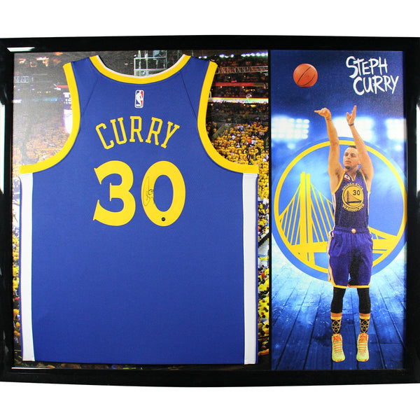 8ae877b048dd Stephen Curry Golden State Warriors Signed Swingman Jersey With Elite –  Steiner Sports