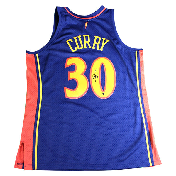 fb95d2822fc0 Stephen Curry Golden State Warriors Signed Navy