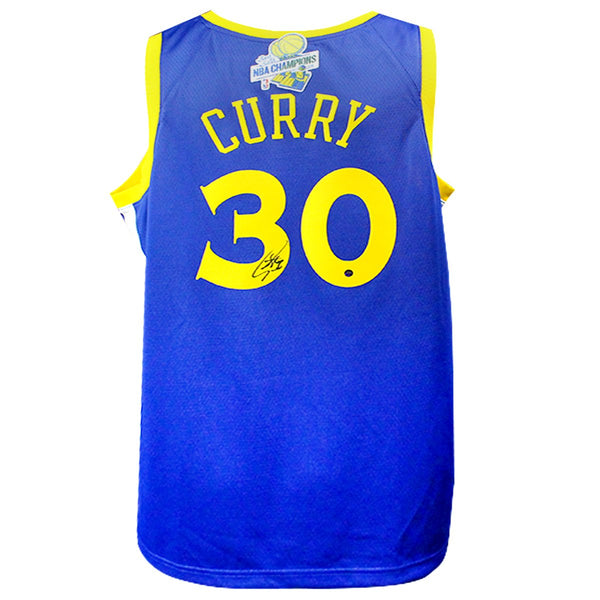 4c9d1f9c84a8 Stephen Curry Golden State Warriors Signed Nike Swingman Jersey with 2 –  Steiner Sports