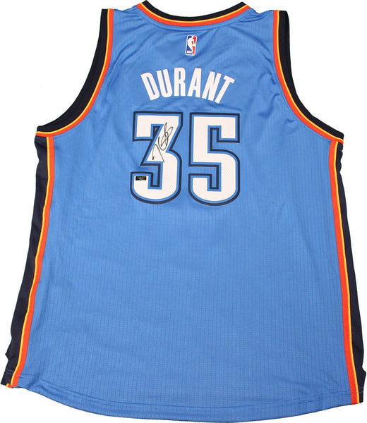 ... order kevin durant blue thunder replica jersey signed panini auth  steiner sports cf6d8 68a4a 16a2c8328