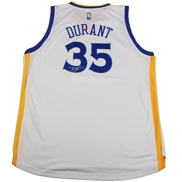 3933a9ba8 Kevin Durant Golden State Warriors Signed Golden State Warriors White –  Steiner Sports