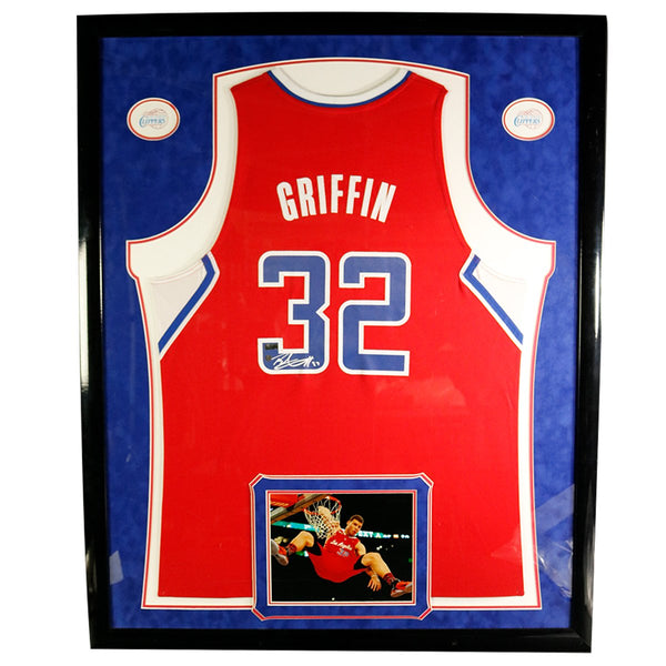 7359f259406 Blake Griffin Signed Swingman Red Clippers Jersey (Panini Auth) – Steiner  Sports