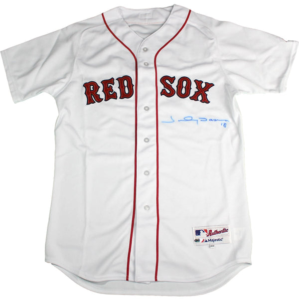 Johnny Damon Boston Red Sox Signed Home Jersey (Imperfect) – Steiner Sports 950518db01e