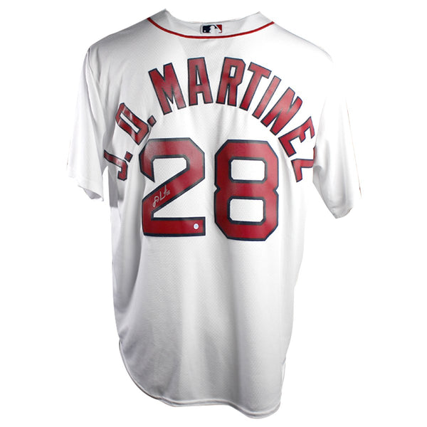 J.D. Martinez Boston Red Sox Signed Cool Base Replica Jersey – Steiner  Sports 0d52bacbc20
