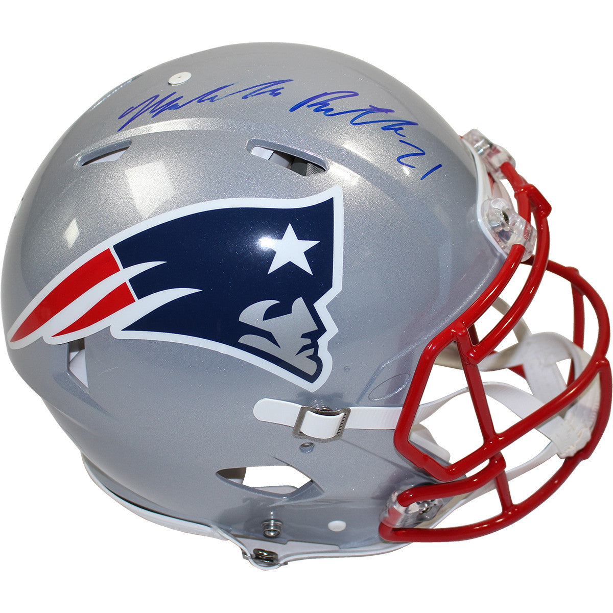 936876da6 Malcolm Butler Signed New England Patriots Full Size Speed Proline  Authentic Helmet ...