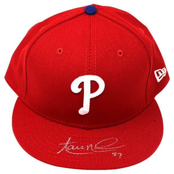 Aaron Nola Philadelphia Phillies Signed New Era MLB Authentic Collecti –  Steiner Sports 184d5dbde1e