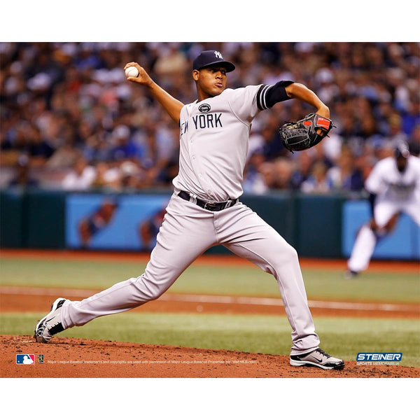 competitive price 8e0e2 afc91 Ivan Nova New York Yankees Road Jersey Pitching Horizontal 8x10 Photo (MLB  Auth)