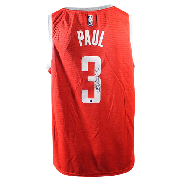 best authentic ed535 3d194 Chris Paul Houston Rockets Signed Nike Swingman Jersey