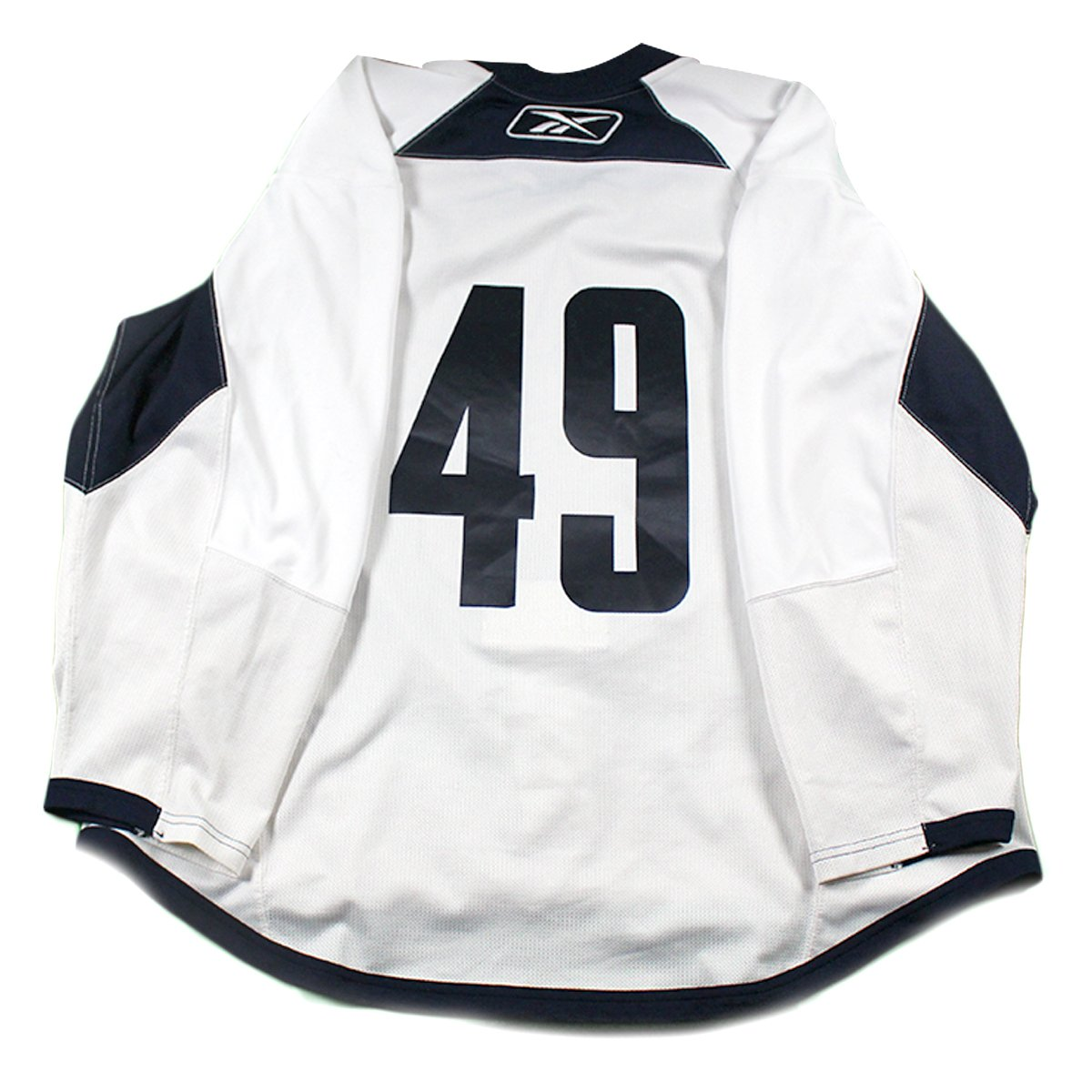 New York Rangers Training Camp White Practice Jersey  49 (Size 58 ... 611d8c5f269