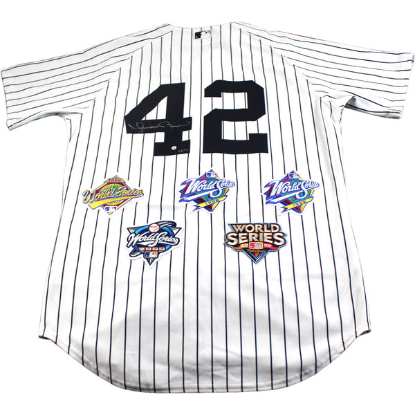 56068d543 Mariano Rivera Signed New York Yankees Authentic Pinstripe Jersey with –  Steiner Sports