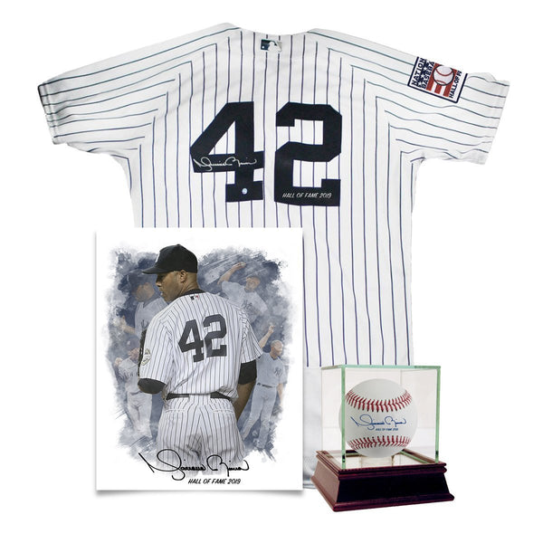 3d13045c3af Mariano Rivera New York Yankees Hall of Fame Inscription Package- Signed  MLB Baseball