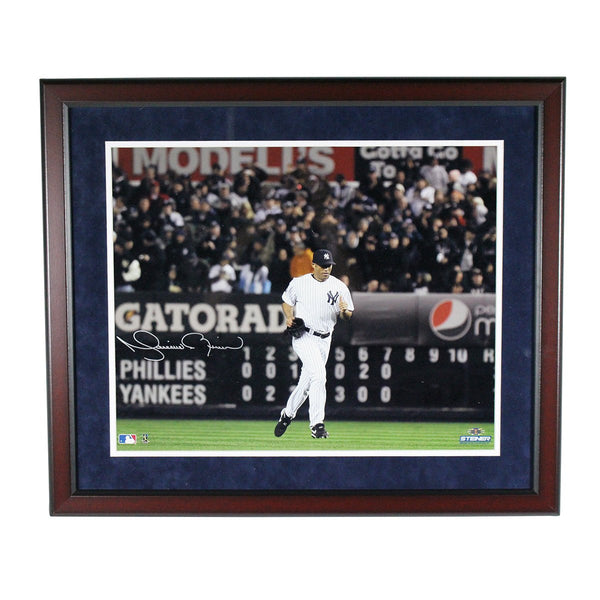 f9ec5a5dec3 Mariano Rivera Signed and Framed Yankees Home Jersey Run Onto The Fiel –  Steiner Sports
