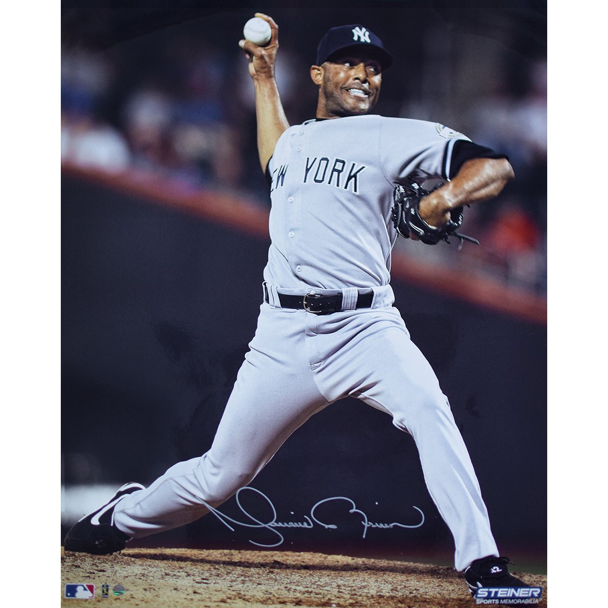 8f65a2e0 Mariano Rivera New York Yankees Signed 500th Career Save 16x20 Photograph