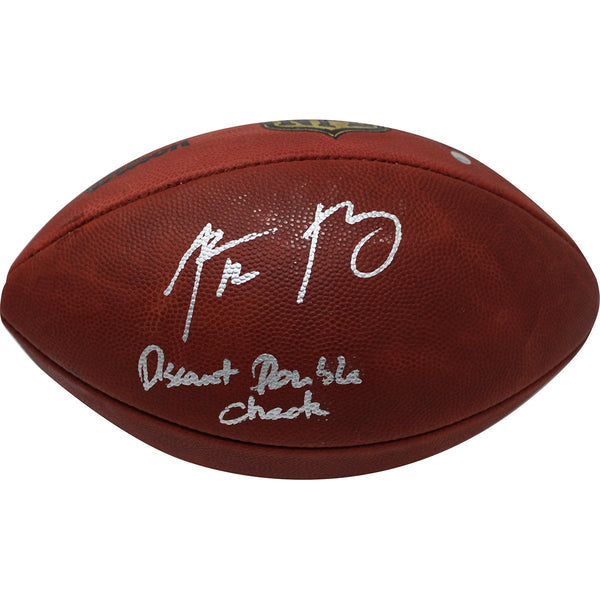 Aaron Rodgers Autographed NFL Duke Football w Discount Double