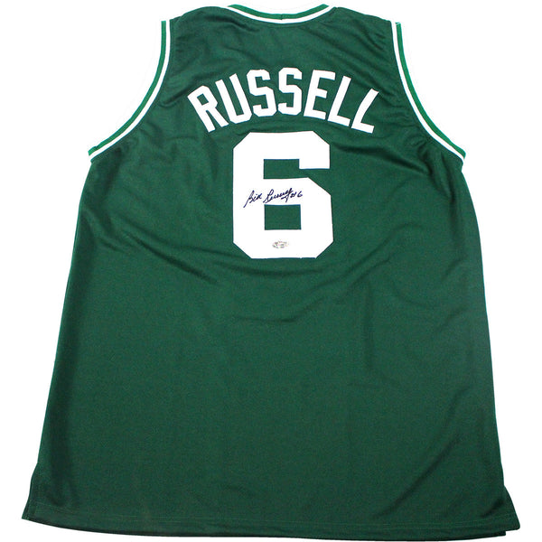 696b2f1ccc7 Bill Russell Boston Celtics Signed Jersey (Hollywood Collectibles) – Steiner  Sports