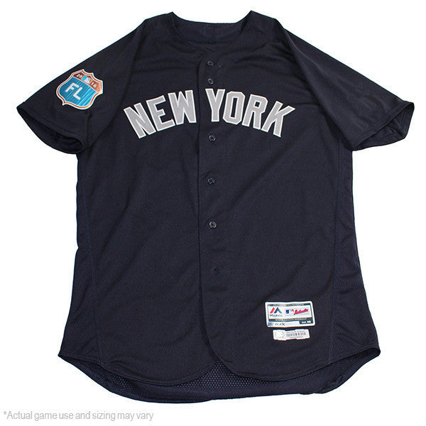 Giovanny Gallegos New York Yankees 2017 Spring Training Road Game Used –  Steiner Sports c5cbb16ab42