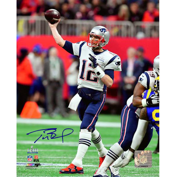 35f89bccc Tom Brady New England Patriots Signed Super Bowl 53 8x10 Action Photog – Steiner  Sports