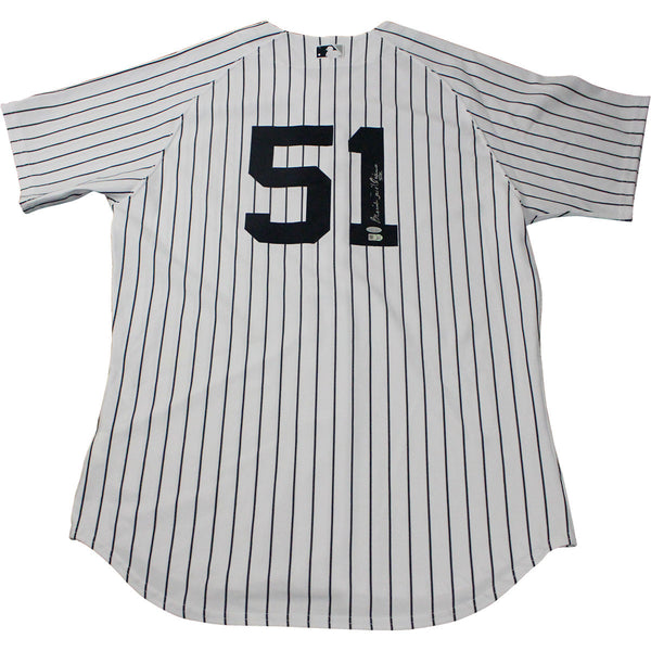 new style 4518b f6e06 Bernie Williams Signed New York Yankees Authentic Home Jersey (Signed on  Back) (MLB Auth)
